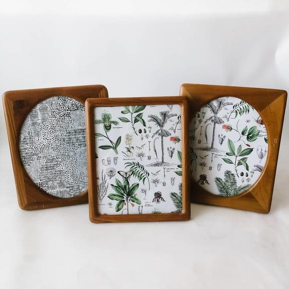 Vintage Boho Wood Photo Frames (3)